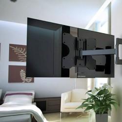 Крепление для телевизора на стену: особенности и возможности устройств