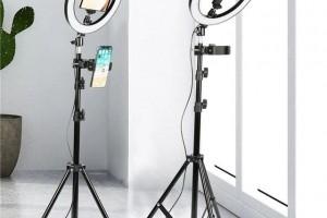 Зачем нужна кольцевая лампа: специфика использования