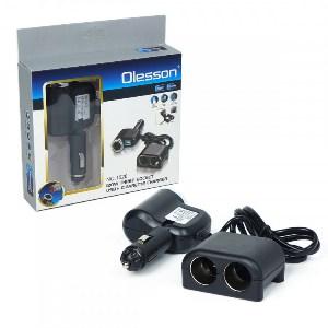 Разветвитель прикуривателя Olesson 1526 USB 12V/24V