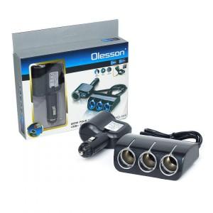 Разветвитель прикуривателя Olesson 1528 USB 12V/24V