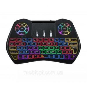 Беспроводная клавиатура с тачпадом I9 Dazzle с разноцветной подсветкой