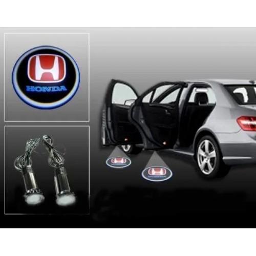 Лазерная проекция логотипа HONDA 004