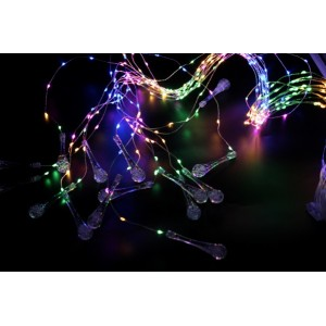 Гирлянда Штора Xmas Copper curtain ball lamp Led 300, RGB, 3M*2M (ART-7261 300M-8)