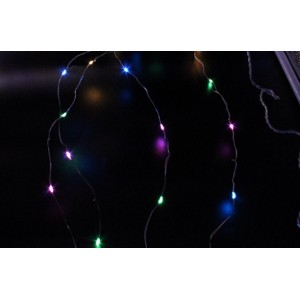 Гирлянда Штора Xmas CURTAIN WITH CONNECTOR Led 600, RGB, 8х1,5м (ART-7256)