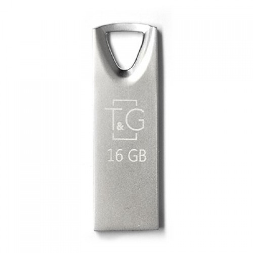 Флешка usb flash 16GB T&G 117 Metal series Silver