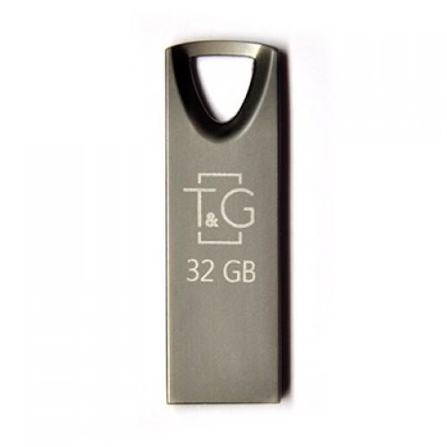 Флешка usb flash 32GB T&G 117 Metal series Black