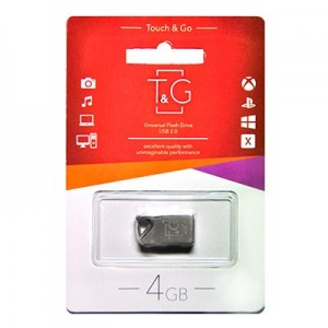 Флешка usb flash T&G 109 Metal series 4GB