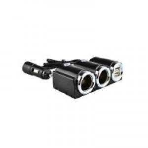 Автомобильное зарядное устройство для разветвителя Olesson 1502 2USB 12V/24V
