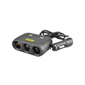 Автомобильное зарядное устройство для разветвителя  Olesson 1512 2USB 12V/24V