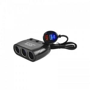 Автомобильное зарядное устройство для разветвителя  Olesson 1518 USB 12V/24V
