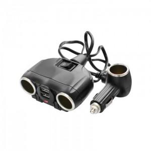 Автомобильное зарядное устройство для разветвителя  Olesson 1630 2USB 12V/24V