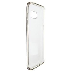 Силиконовая накладка прозрачная Samsung S7 edge