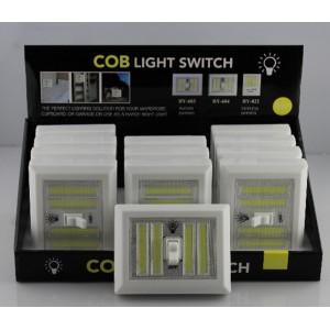 Аварійний світильник BL 604 з тумблером COB (Ціна за упаковку 20 шт)