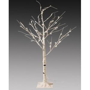 """Новогоднее декоративное светящееся дерево """"Береза"""" 160 см, холодный белый, Led 96, IP 44"""