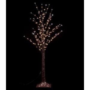 """Новогоднее декоративное светящееся дерево """"Береза"""" 160 см, RGB, Led 96, IP 49"""