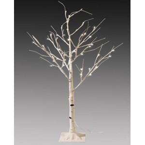 """Новогоднее декоративное светящееся дерево """"Береза"""" 160 см, RGB, Led 96, IP 45"""