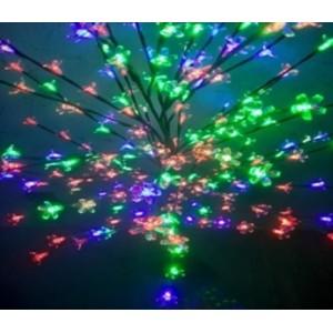 """Новогоднее декоративное светящееся дерево """"Сакура"""" 160 см, RGB, Led 96, IP 53"""