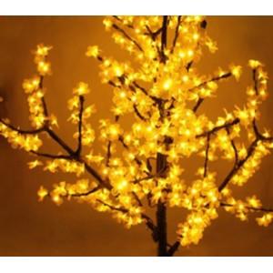 """Новогоднее декоративное светящееся дерево """"Сакура"""" 160 см, теплый белый, Led 96, IP 51"""
