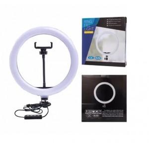 Кольцевая LED лампа SL300 (1 крепл.тел) (управл. на проводе) USB 30см