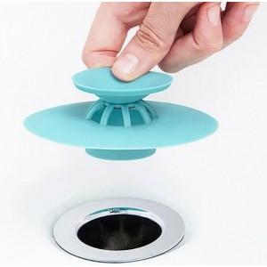 Пробка силіконова (фільтр заглушка для раковини і ванни)