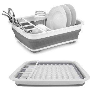 Сушилка для посуды складная силиконовая