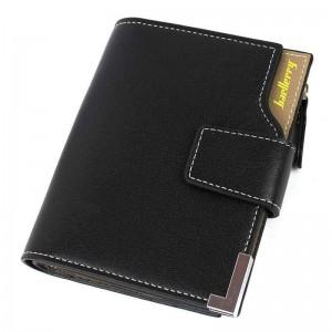 Чоловічий гаманець Baellerry D1282 чорний