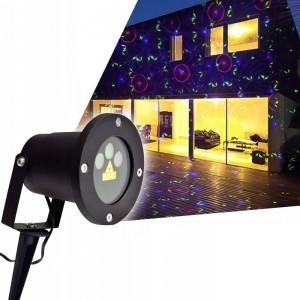 Вуличний проектор STAR SHOWER WITH REMOTE + 6 PHOTOS