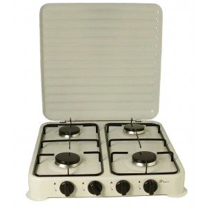 Настільна газова плита Domotec MS 6604 (4 конфорки)