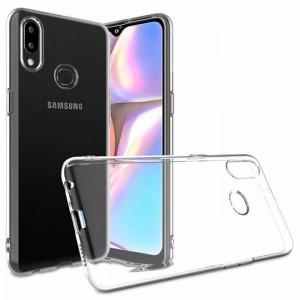Силиконовая накладка прозрачная Samsung S6