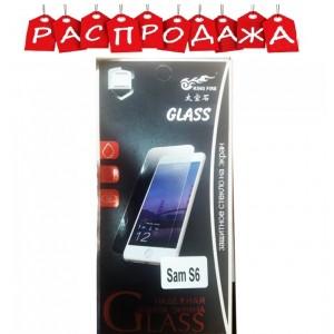 Защитное стекло Samsung S6 (распродажа)
