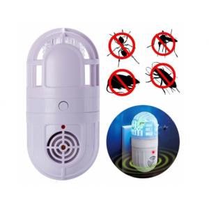 Антимоскитная ультразвуковая лампа отпугиватель насекомых Atomic Zabber