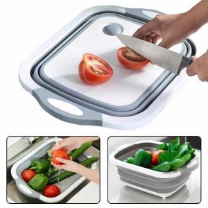Складная разделочная доска для мытья и резки овощей A2-86