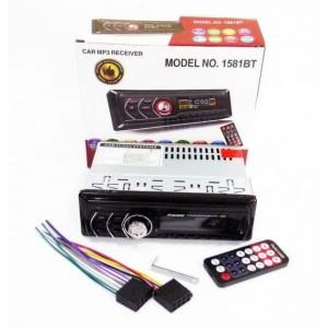 Автомагнитола 1DIN MP3 1581BT RGB/Bluetooth