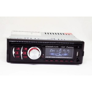 Автомагнитола 1DIN MP3 1782DBT (1USB, 2USB-зарядка, TF card, bluetooth, съёмная панель)
