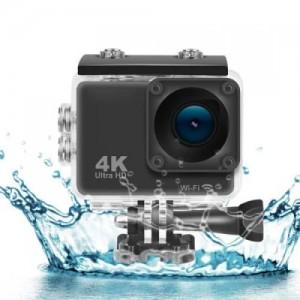 Водонепроникна екшн камера Ultra HD S2 Wi Fi 4K (кріплення на кермо велосипеда і шолом)