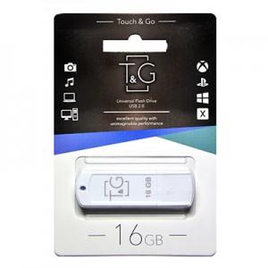 Флешка usb flash T&G 011 Classic series 16GB White