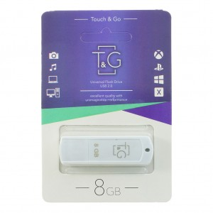 Флешка usb flash T&G 011 Classic series 8GB White
