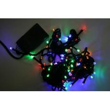 Гирлянда L400 RGB, чёрный провод