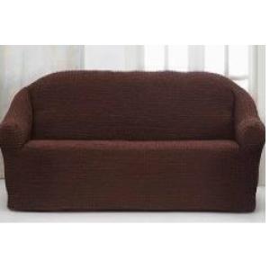 Накидка для дивана №16 КОРИЧНЕВЫЙ (30)