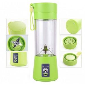 Блендер Зеленый Juice Cup Fruits USB № B77 (30)