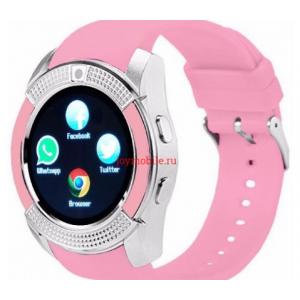 Smart Watch V8 РОЗОВЫЕ (100)