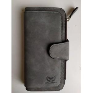 Кошелек 2345 Темно-Серый Wallerry (300)