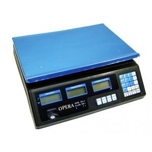 Электронные торговые весы Opera Plus до 40 кг ТОЛЬКО ЯЩИКОМ (4)