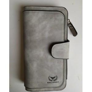 Кошелек 2345 Светло-серый Wallerry (300)