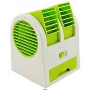 Мини кондиционер Conditioning Air Cooler USB Electric Mini Fan (Air Fan-green) (60)