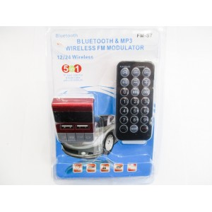 Авто модулятор Bluetooth & MP3 Wireless FM Modulator FM-S7 (20)