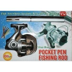 Карманная ручка-удочка Pocket Fishing Rod + катушка (60)