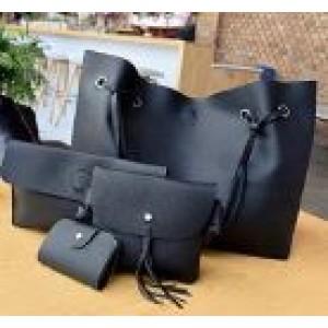 Женская сумка LADY BAG 2B ЧЕРНАЯ (150)