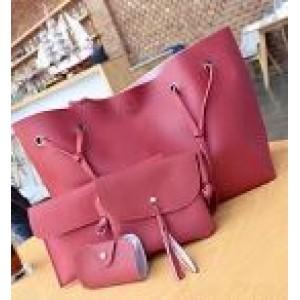 Женская сумка LADY BAG 2B БОРДОВАЯ (150)