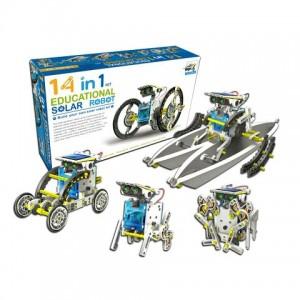 Конструктор робот на солнечных батареях Solar Robot 14 в 1 (48)